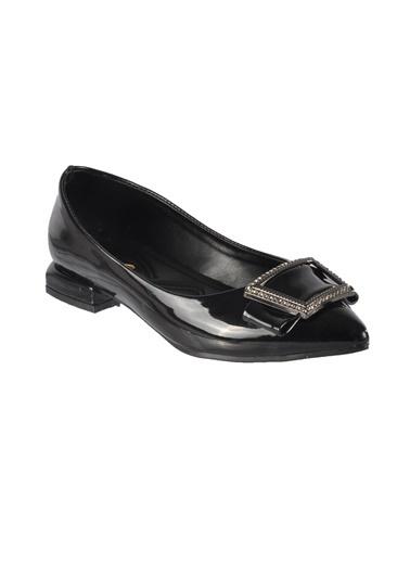 Mhd 222 Siyah Kadın Günlük Ayakkabı Siyah